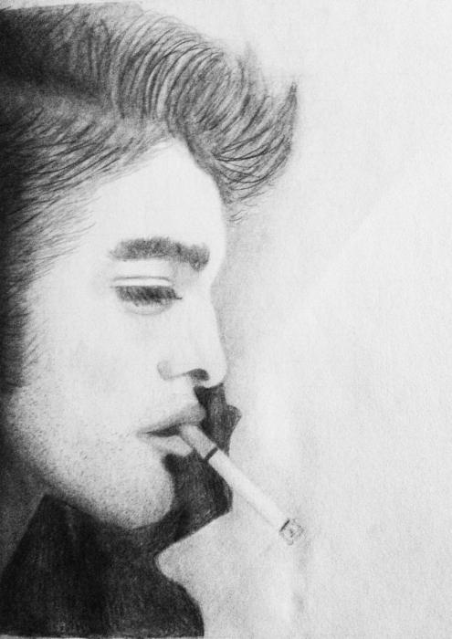 Robert Pattinson by Schierie